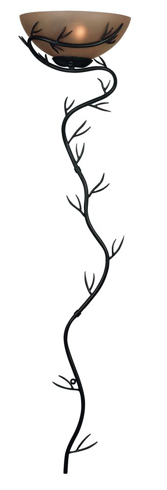 Twigs 1 Light Wallchiere Shown In Bronze Finish By Kenroy Home