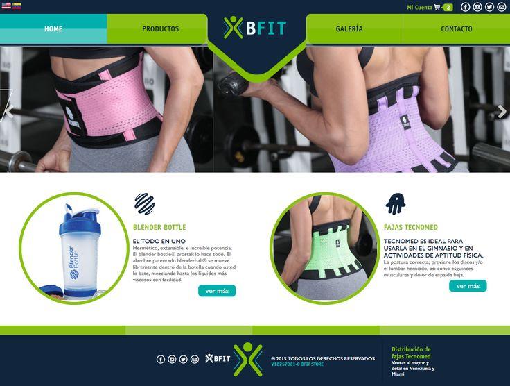 Diseño Web de BFIT para Mr. Graphics