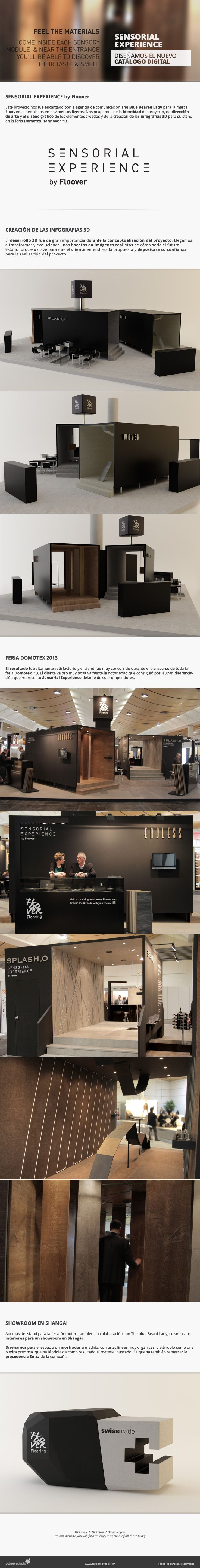 Sensorial Experience by Floover #artdirection #stands #rendering
