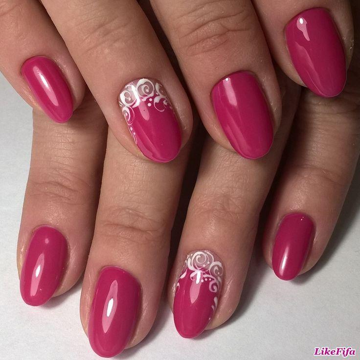 #маникюр, #маникюрзима2017, #дизайн_ногтей, #маникюр_с_декором, #маникюр_розовый