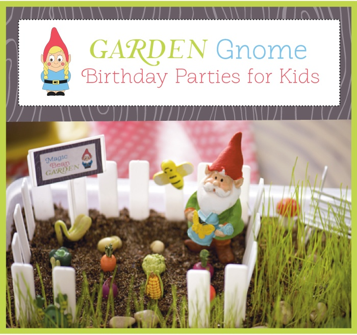Gnome In Garden: 153 Best Images About Birthday Parties On Pinterest