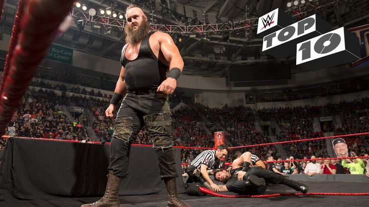Braun Strowman and Big Show's WWE Raw fiasco was only the latest incident of Superstars BREAKING the ring!