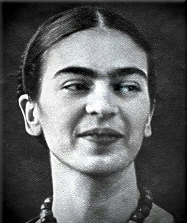 "A ""prettier"" adaptation of Frida Kahlo's self-portrait has been circulating the internet. machine and it's not pretty. Frida's iconic look has been appropriated ever since her death in 1954 and her..."