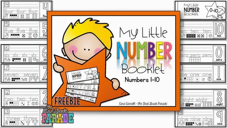Number Handwriting FREEBIE!