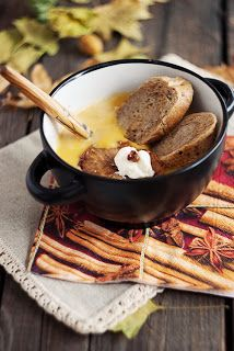Сладкиш на тиган        Френска лучена супа/ French onion soup                     Варени гевречета       Джинджифилов чай      ...