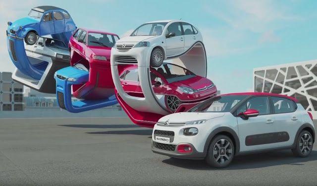 """LA GAZETTE AUTOMOBILE: La nouvelle Citroën C3 et ses ancêtres """"élastiques"""" (by Christopher Labrooy)"""
