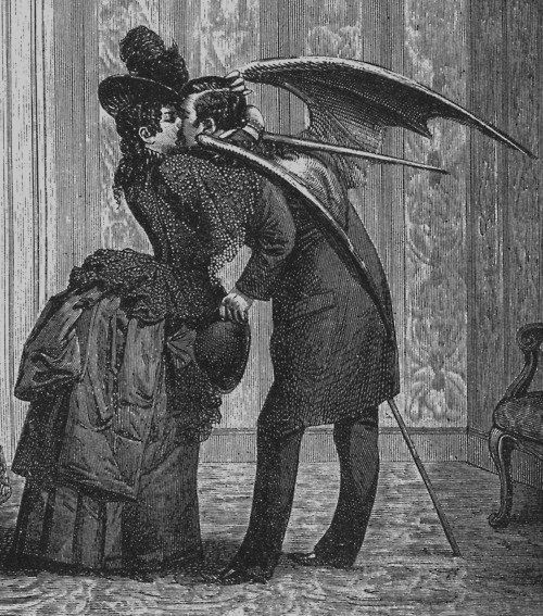 Not everyone in Fallen London is wary of the Affectionate Devil, clearly. #DDM