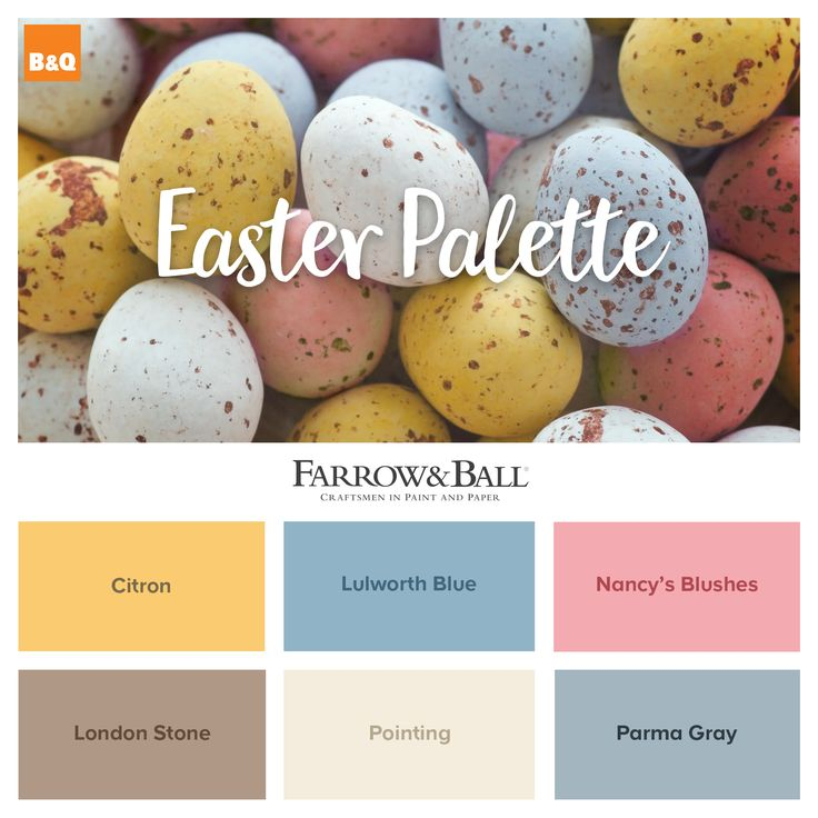 Put a spring in your step with these beautiful easter inspired Farrow & Ball paint choices. Are you a Citron or London Stone fan?