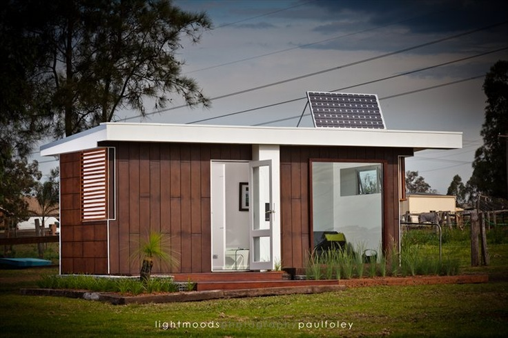 Shipping container home by Andrew Dwight