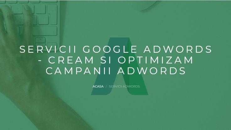 In ce consta munca unui Specialist Google AdWords:  Analiza prezentei online a afacerii tale (cuvinte cheie, descrieri produse si servicii, etc) Analiza competitiei Creare anunturi optimizate (text, imagine, video, etc.) Promovare anunturi pe canalele Google si in reteaua Display Monitorizare si optimizare campanie AdWords in functie de obiectivele alese Optimizarea costurilor pentru maximizarea numarului de vizite targetate Suport tehnic Raportare detaliata