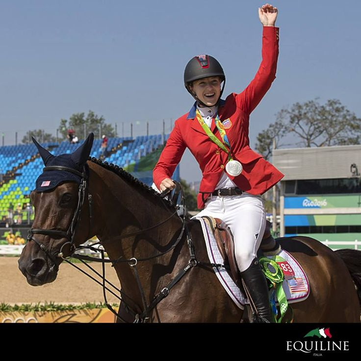 A dream that has become reality for Lucy Davis. Huge congratulations to our extraordinary ambassador who has won a silver medal as a member of USA's Show Jumping Team at 2016 Olympic Games in Rio.