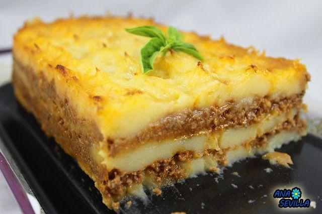 Más Recetas en https://lomejordelaweb.es/ | Milhojas de patata y carn