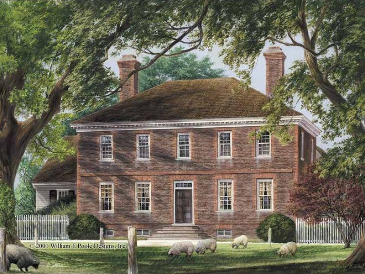 17 best images about colonial homes and decor on pinterest for Colonial reproduction house plans