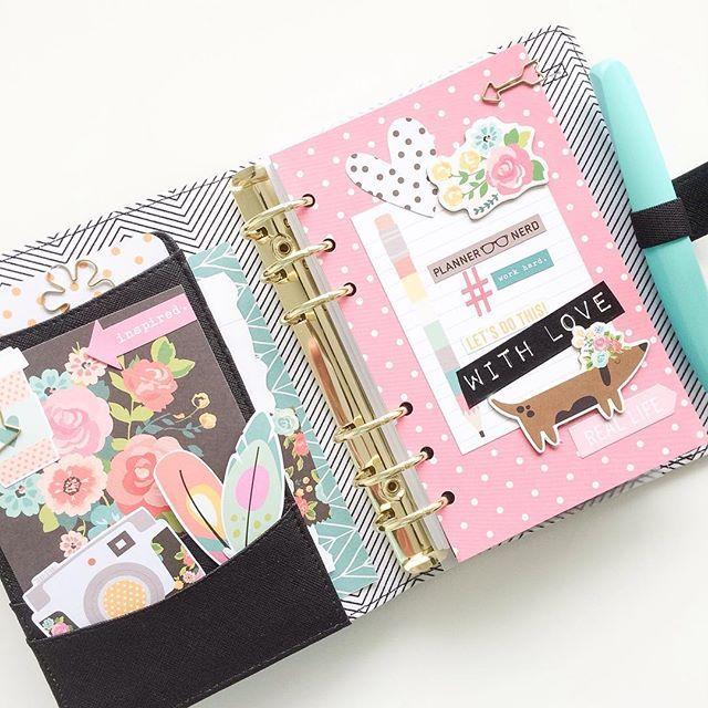 Pretty Kikki K planner ideas.