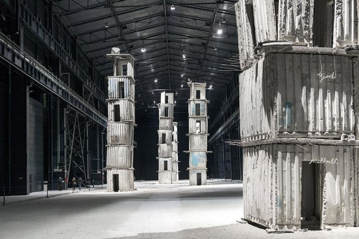 Francesco Radino Milano e i suoi musei - Hangar Bicocca, Anselm Kiefer, I Sette Palazzi Celesti.