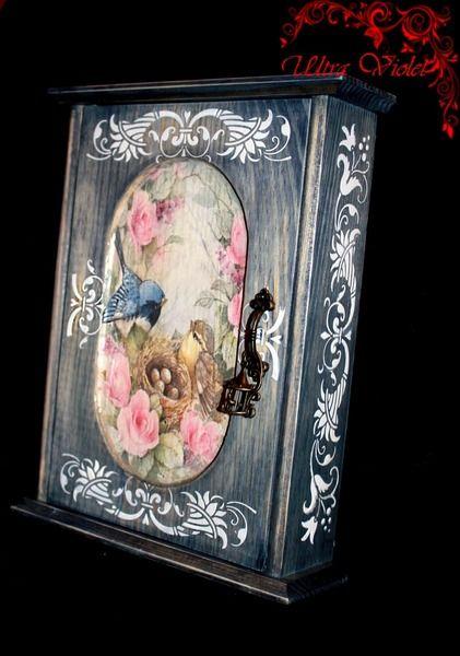 Schlüsselkasten , Schlüsselbox. von Exklusive Geschenke. auf DaWanda.com