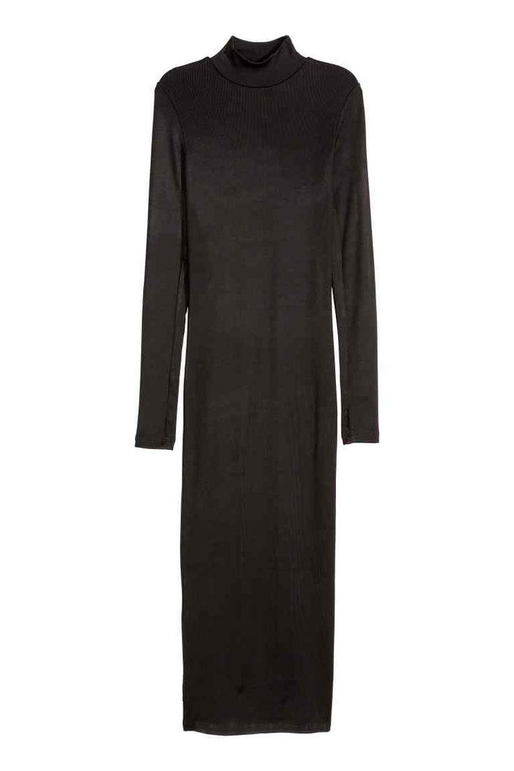 Maxi-jurk met lange mouwen | H&M