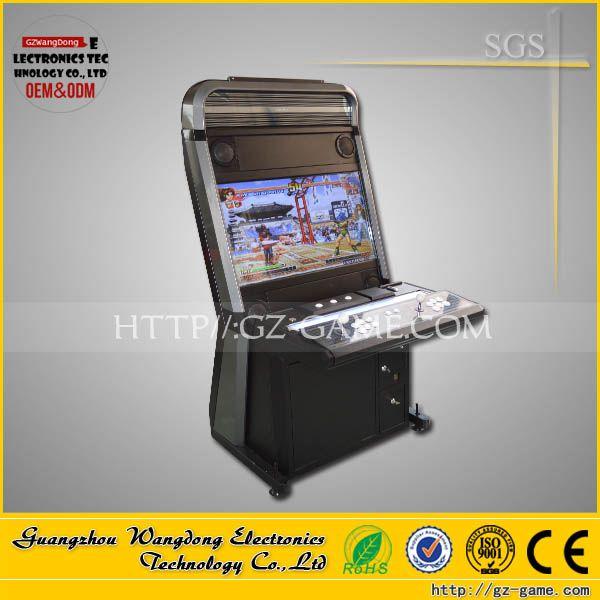 """Arcade cabinet vewlix l cabinet, 2 players Video fighting tekken 6 arcade machine connect with XBOX 360"""