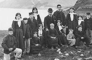 school children of St Kilda