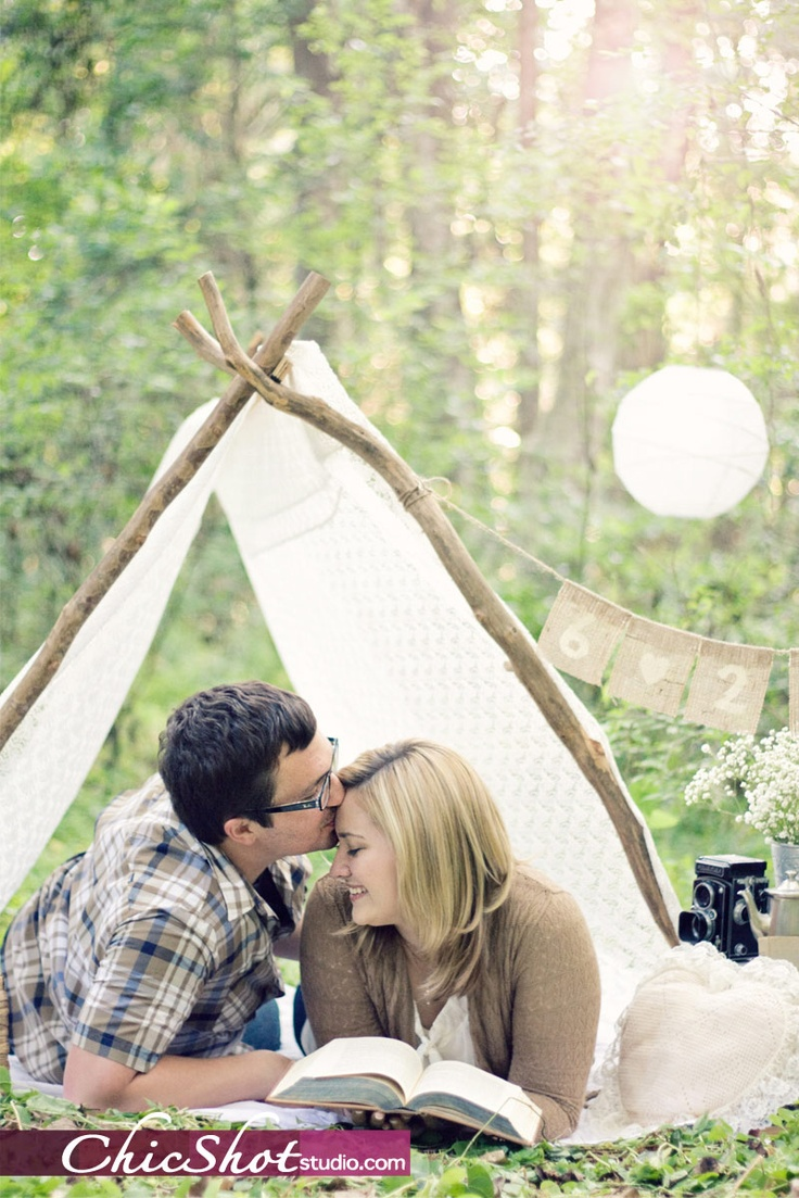 #engagement #photography #vintage #modern #tent