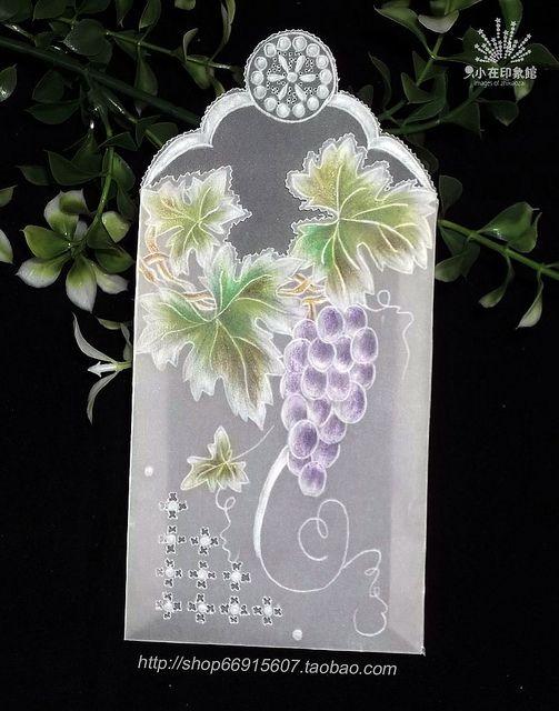 【Pergamano 纸蕾丝】紫葡萄 | Flickr: partage de photos!