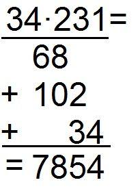 Schriftlich multiplizieren einfach erklärt anhand eines Beispiels mit Schritt für Schritt Anleitung. Ideal für die 5. Klasse.