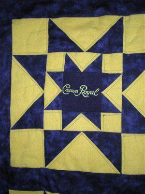 Crown Royal Quilt Quilt Pinterest Crown Royal Quilt