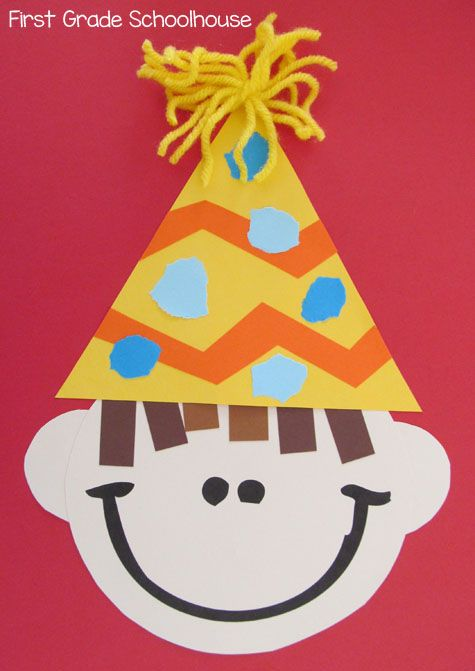 Celebrate birthdays with a simple craft.