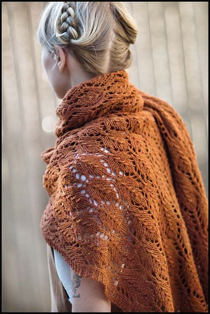 Autumn Leaves Stole by brooklyntweed, via Flickr