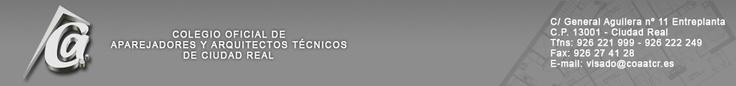 Colegio Oficial de Aparejadores, Arquitectos Técnicos e Ingenieros de Edificación - Ciudad Real