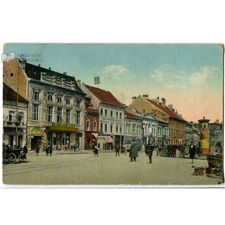 Košice, tramvaj - Antikvariát Valentinská