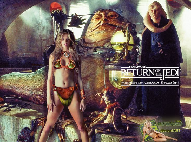52 best images about Star Wars - Princess Leia Slave on ... Jabba The Hutt And Leia Fanfiction