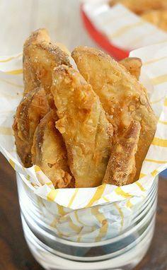 Copycat KFC Crispy Potato Wedges Recipe