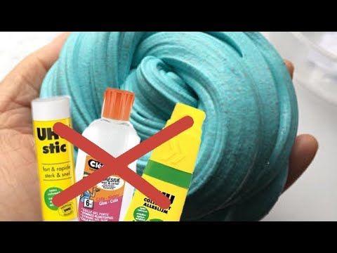 Faire du SLIME sans colle : c'est possible !!! - YouTube