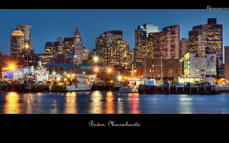 Natuurlijk bovenaan op visite bij Kim en Andries in Boston.