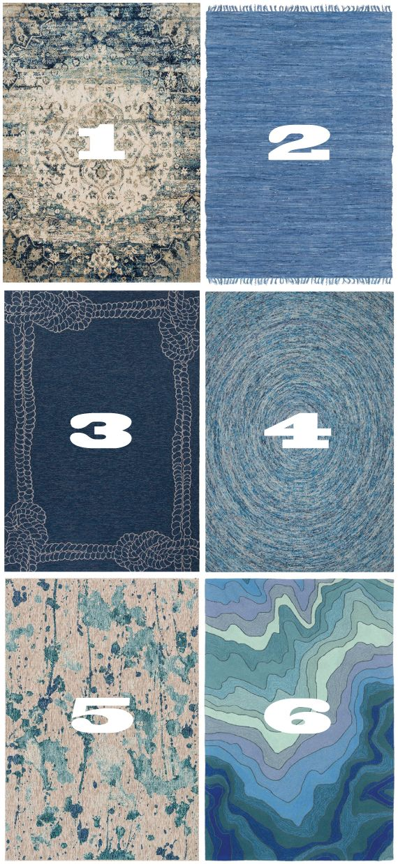 Sea of Blue Home Decor | Trend Center by Rugs Direct