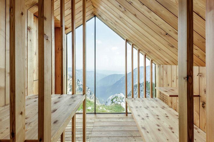 Alpine Shelter Skuta,© Anze Cokl