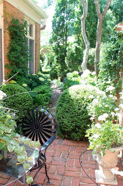 Home talk french inspired courtyard garden decks for French courtyard garden ideas