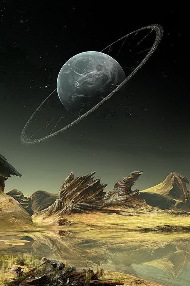 Komw'lik Space the final frontier. Looking Towards Home by Inga Nielsen, who goes by the name Gate-To-Nowhere on DeviantArt. http://gate-to-nowhere.devi...