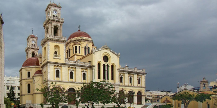 Agios Minas Church in Heraklion, Crete
