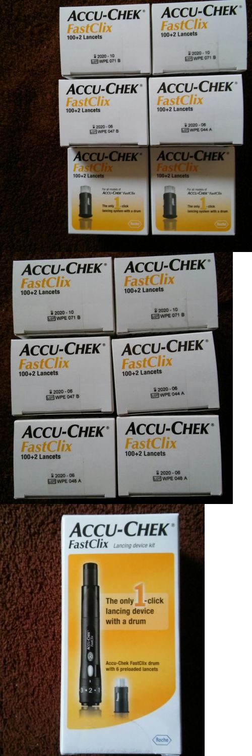 Lancets: 6 Boxes Accu-Chek Fastclix Lancets (612 Lancets) And Free Lancing Device -> BUY IT NOW ONLY: $89.5 on eBay!