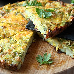 If you are watching carbohydrates and calories, but want high protein, you really can't do much better than this quiche.  You'll be getting a lot of vitamins as well.  This delicious quiche is high in vitamins C, A, K, iron, …
