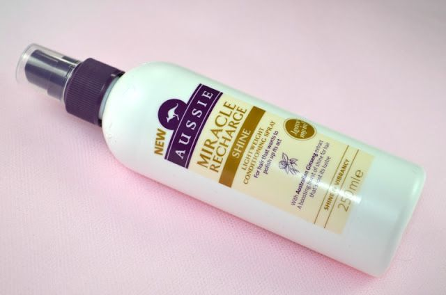 Aussie Miracle Recharge Shine Lightweight Conditioning Spray