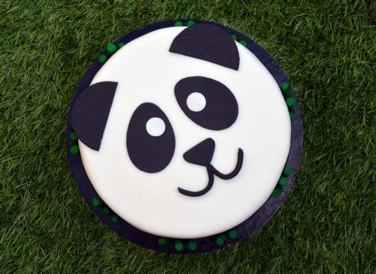 Panda torta útmutató  Panda cake tutorial