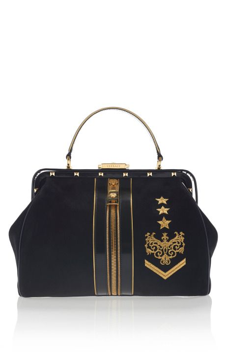 #Versace Zippered Doctor Bag Pre-Fall 2013