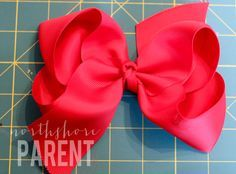 How to Make a Big Southern Bow - Northshore Parent