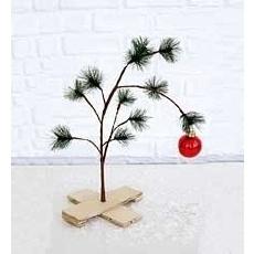 charlie brown Christmas tree...LOVE