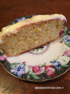 5 Ingredient Orange Cake