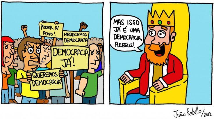 """E Viva a Farofa!: A precária democracia brasileira. """"Os brasileiros gostamos de acreditar que vivemos numa democracia plena e madura. São abundantes, no entanto, os incômodos sinais da precariedade do regime. Eleições regulares e limpas, apenas, não são suficientes para qualificar um regime como democrático – a autocracia venezuelana, campeã mundial de consultas populares, talvez seja o melhor exemplo disso."""""""