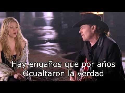 Mi verdad - Maná Ft. Shakira (Video Con Letra) - YouTube